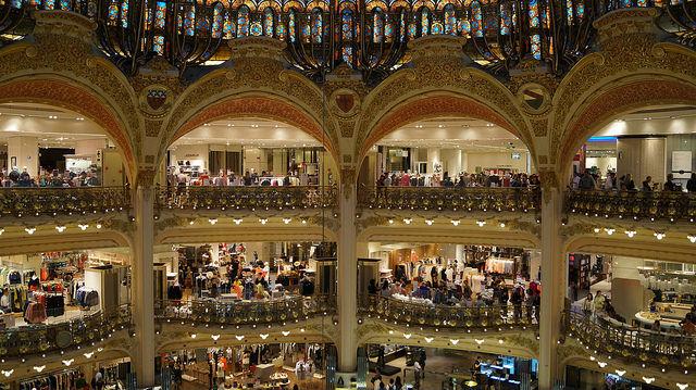 Paris France - Galeries Lafayette