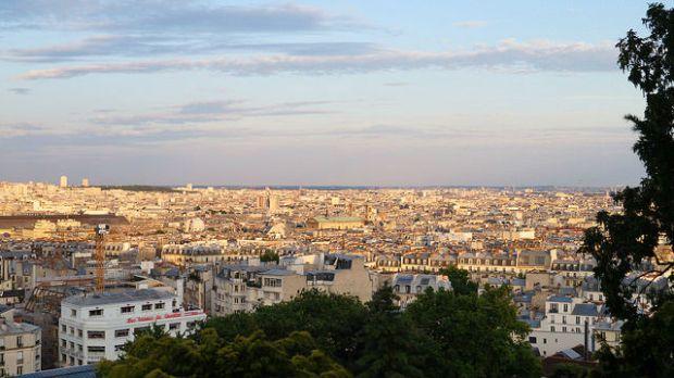 Paris France - Paris from Montmartre