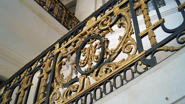 Paris France - Petite Trianon Staircase