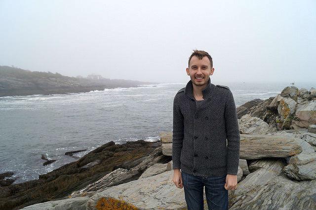 Maine - Shawn at Cape Elizabeth