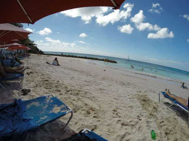 Bathing in Barbados - Lounging at Rockley