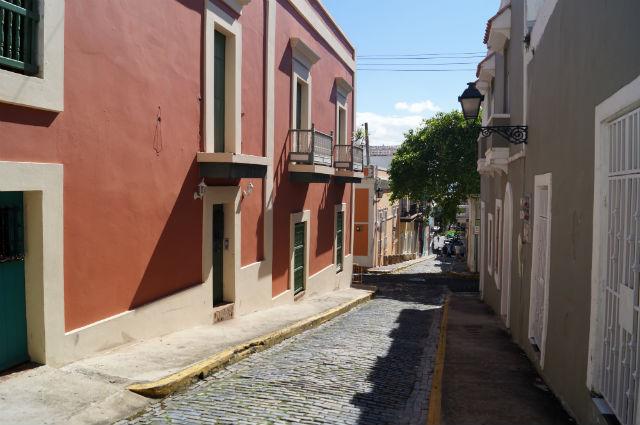 Discovering San Juan Puerto Rico - Street in Old San Juan