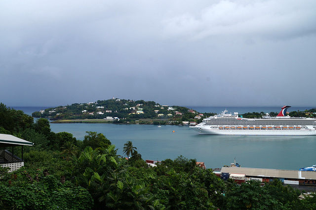 Exploring the Island of St. Lucia - Leaving Castries to the south