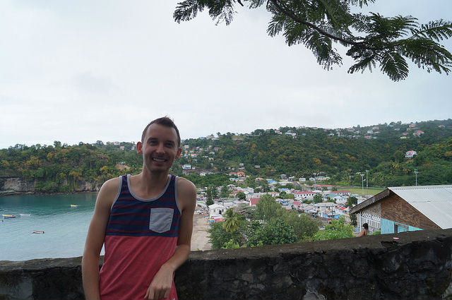 Exploring the Island of St. Lucia - Overlooking Anse-La-Raye