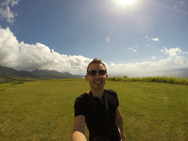 The Island Tour of St. Kitts - At Brimstone Hill Fortress National Park