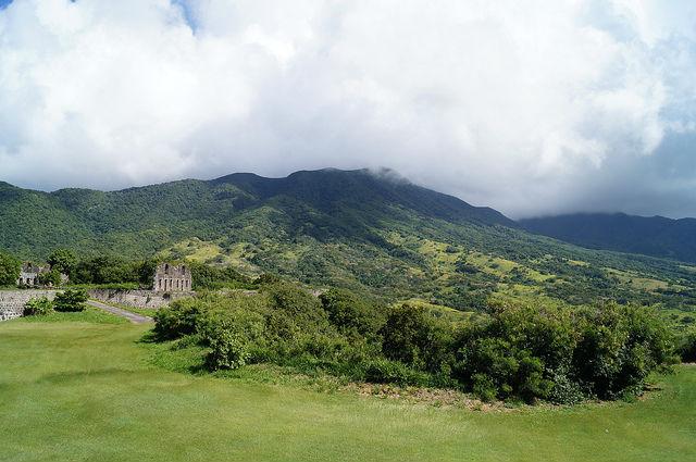 The Island Tour of St. Kitts - Mount Liamuiga rain