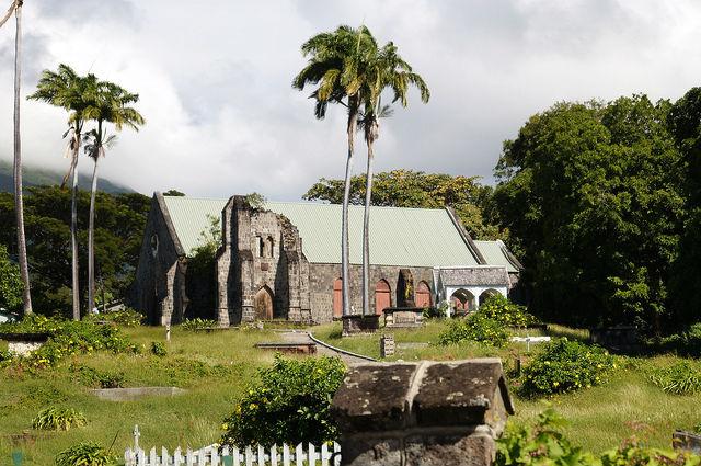 The Island Tour of St. Kitts - Romney Manor Plantation