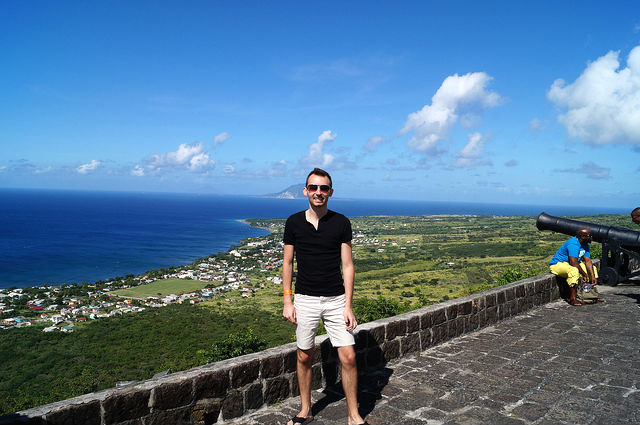 The Island Tour of St. Kitts - Shawn at Fortress