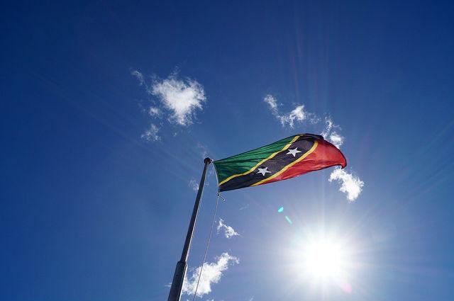 The Island Tour of St. Kitts - St Kitts Flag