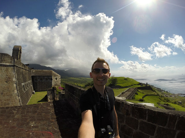 The Island Tour of St. Kitts - UNESCO World Heritage Site at Brimstone Hill Fortress National Park