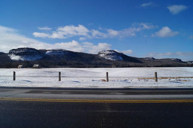 My Mini Minnesota Trip - Driving near Thunder Bay Canada