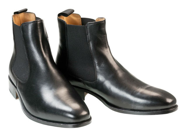 Stylish Mens Boots for Traveling 2015 - Black Albert Chelsea Boots