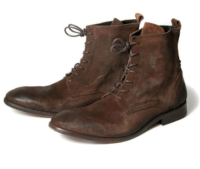 Stylish Mens Boots for Traveling - 2015 - Swathmore Suede Boot