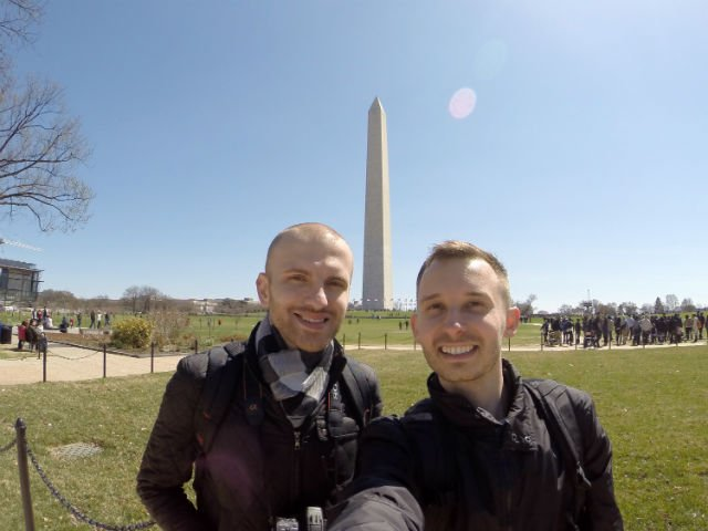 Highlights of Washington DC - Roman and Shawn washington dc