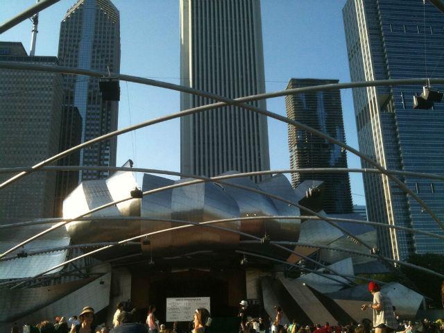 Weekend in Chicago - Concert in Millennium Park