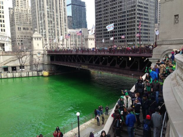 Weekend in Chicago - St Patricks Day Parade