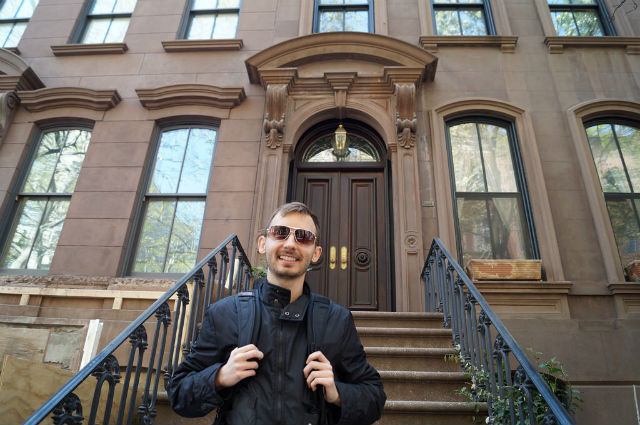 My Weekend in New York City - Carrie Bradshaws Apartment in West Village