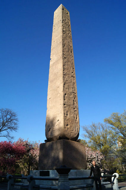 My Weekend in New York City - Roman and Cleopatra's Needle