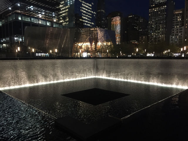 My Weekend in New York City - World Trade Center Memorial