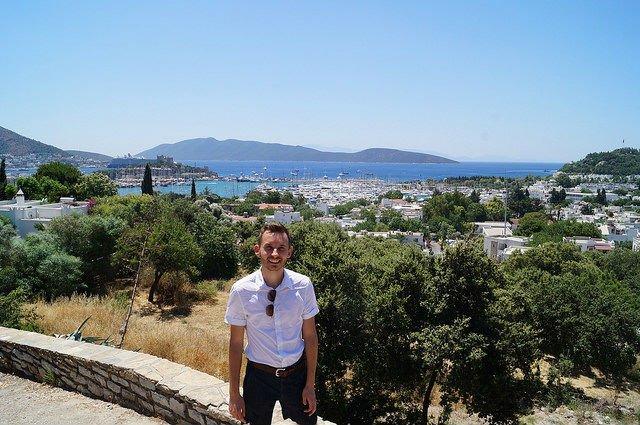 A Day in Bodrum Turkey - Looking down on Bodrum Turkey