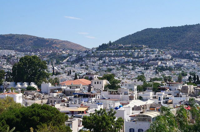 A Day in Bodrum Turkey - White houses of Bodrum