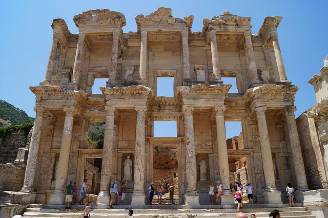My Day at Ephesus and Kusadasi Turkey - Library of Ephesus