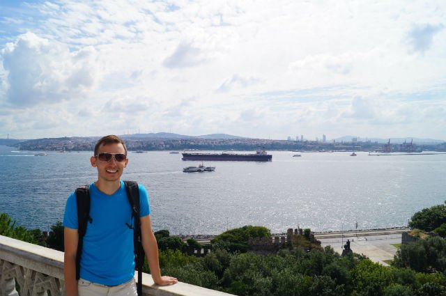 My Tips for Istanbul Turkey - Overlooking the Bosphorus