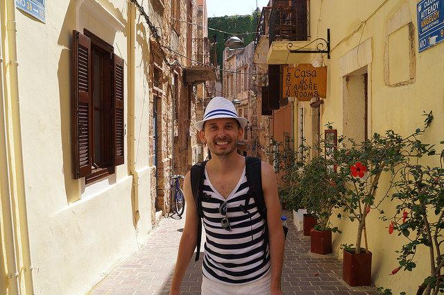 A Day in Crete, Greece - Alley in Chania Crete