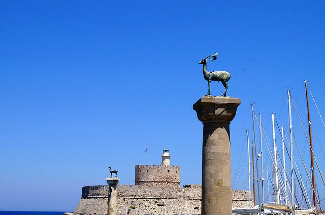Island of Rhodes Greece - Where Colossus Rhodes was