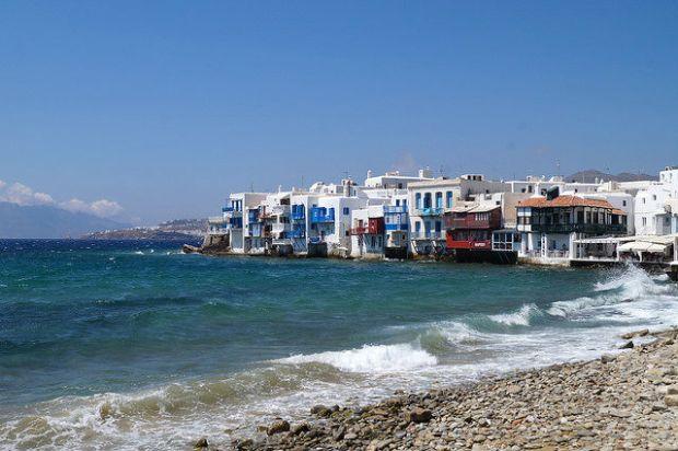 My Day in Mykonos Greece - Little Venice in Mykonos