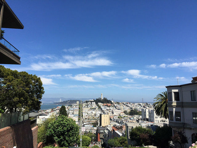 My First Time in San Francisco - From Lombard Street