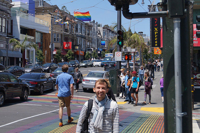 My First Time in San Francisco - Gay street in The Castro
