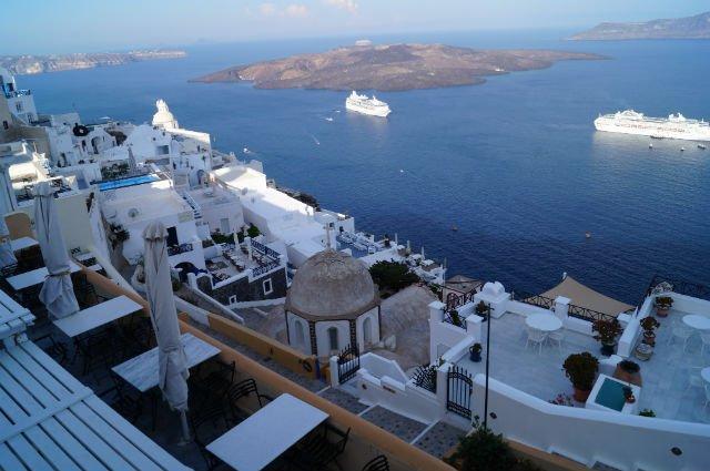 Stunning Santorini Greece - Early morning in Thera