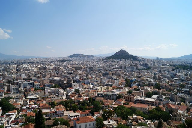 Sunday in Athens Greece - Athens from Acropolis