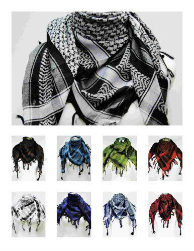 Manly Scarves for Travel - Manly Premium Shemagh Head Neck Scarf Tapp Collections