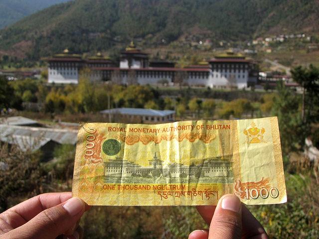 Challenges of Bhutan - Bhutanese money