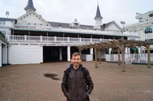 Kentucky - Shawn at Churchill Downs