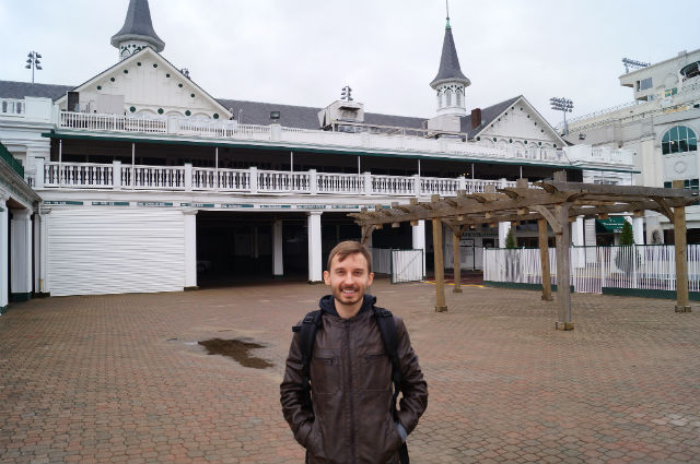 Kentucky - Shawn at Churchill Downs