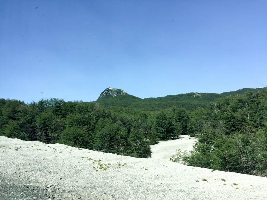 Landscape close to the border