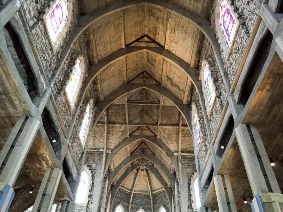 Inside Cathedral of Nahuel Huapi