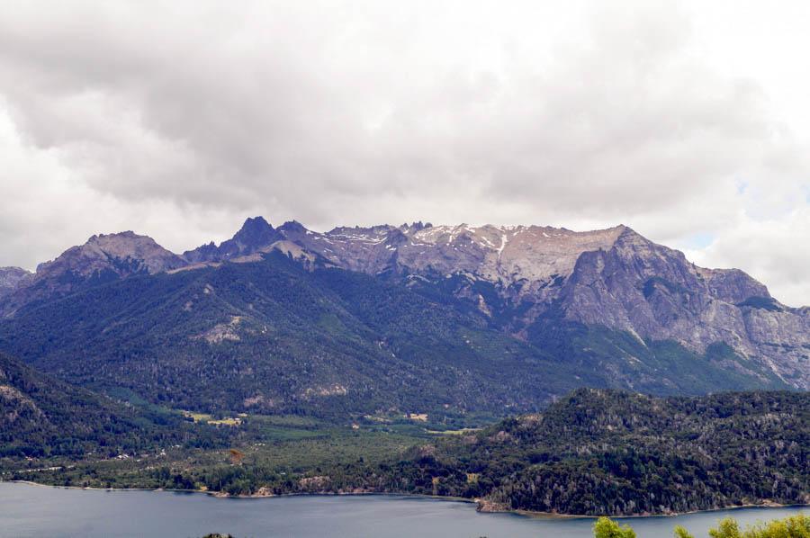 Mountain views at the top of Cerro Campanario