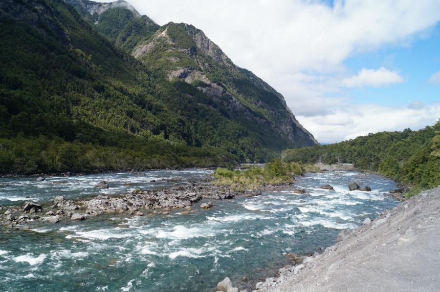 A lovely river near Petrohue