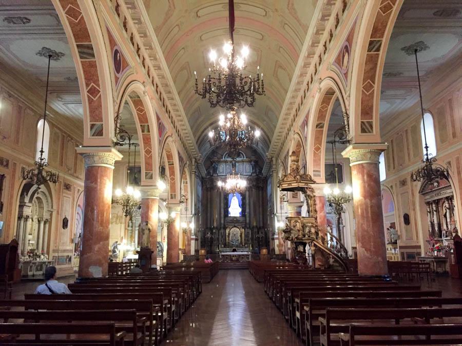 Beautiful church in Santiago