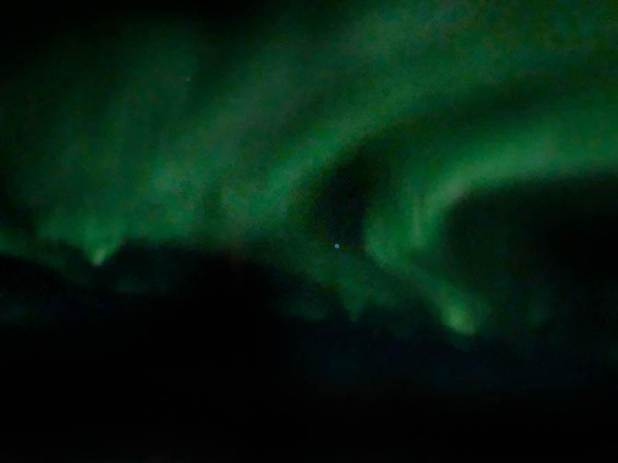 Aurora Lights over Labrador Sea
