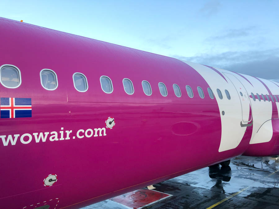 WOW Air in Iceland