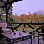 balcony, table and chairs, relaxation, mountain view,style, table and chairs