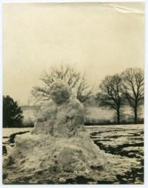 Isn't this a fantastic snow gargoyle!?
