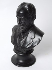 Wedgwood bust of GBS.