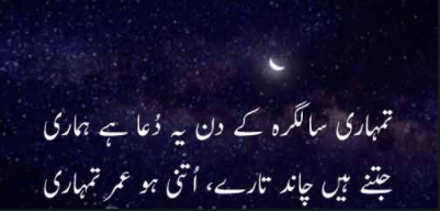 happy birthday shayari poetry