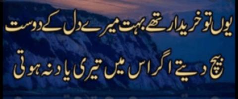 best friend shayari poetry